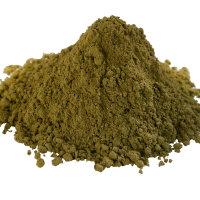 Grüner Tee Gun Powder, fein gemahlen
